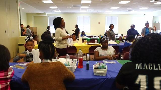 Local teen gives Wilmington girls a day of science and fun