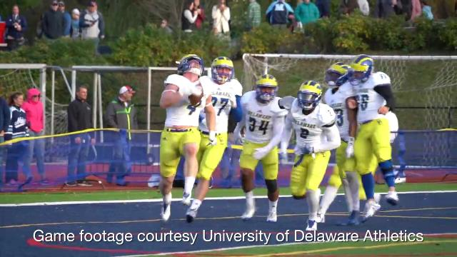UD's Colby Reeder recounts gamebreaking TD