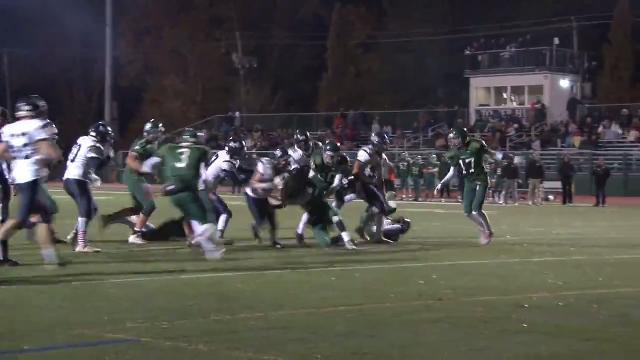 Sotiropoulos busts through middle for Friends TD