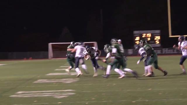McNeill converts 4th down run to keep Friends' drive alive