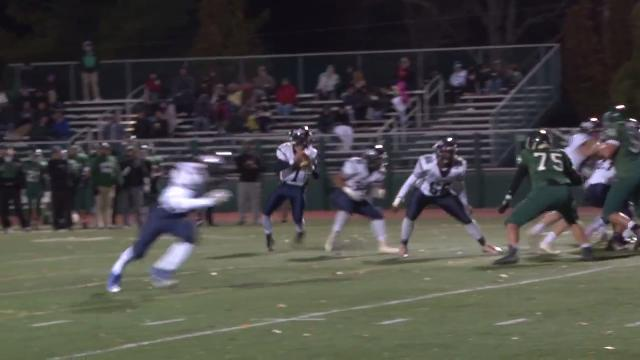 Nelson throws second TD of the night for Wilmington Friends