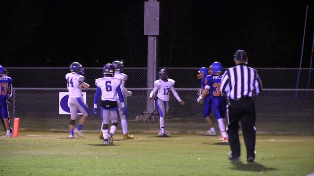Delmar's Zachary Covington with a touchdown in the 3rd quarter