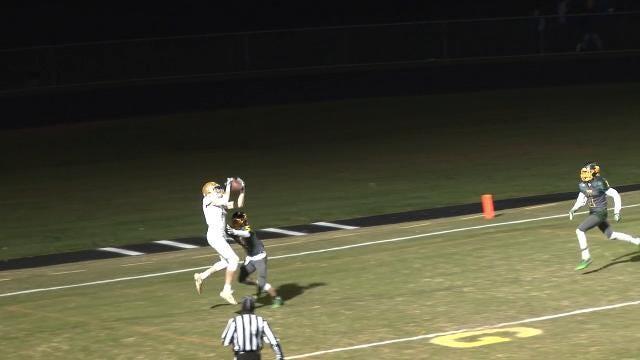 Sean Regan 14-yd TD catch from Zach Gwynn