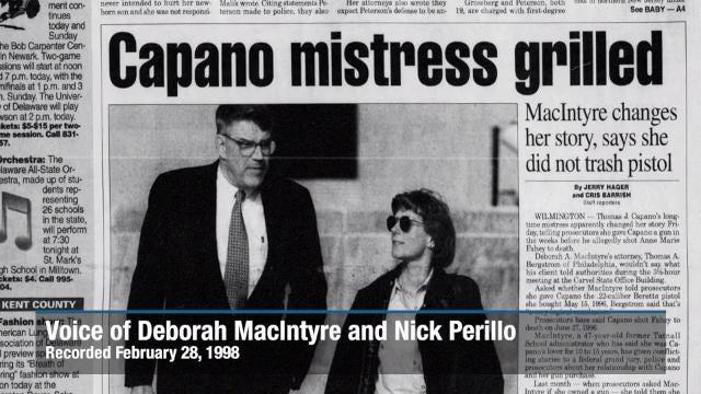 Evidence: Nick Perillo calls Deborah MacIntyre from Gander Hill