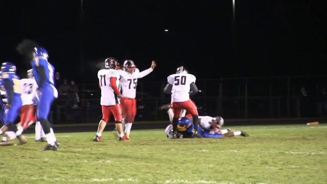 William Penn recovers dropped punt attempt by Sussex Central