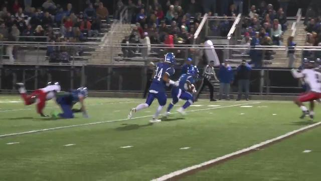 Middletown's Washington takes punt to the house