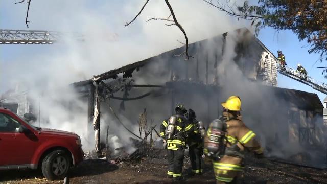 Fire destroys Beaver Brook neighborhood home