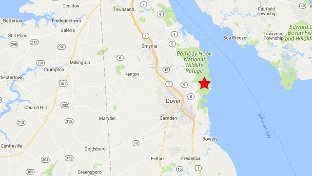 Usgs Delaware Wins Us Earthquake Contest For Thursday - Delaware-on-a-us-map