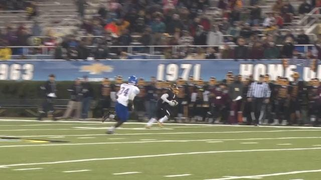 Bowman with the yards after catch