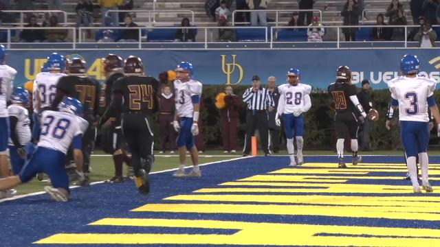 Milford's Tayone' Matthews ties it on 1-yd sneak