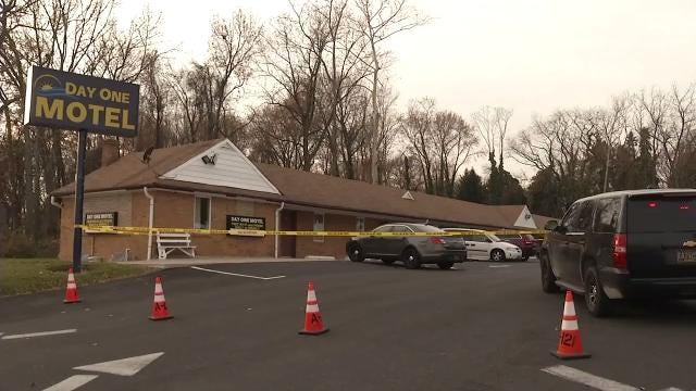 Two people were found dead inside a motel Monday in Fox Point.  State police is investigating.  12/5/17