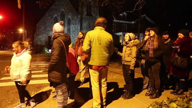 Both of Wilmington's young and old came together to bring a unique twist on the tradition of caroling this year called 'Unsilent Night.'