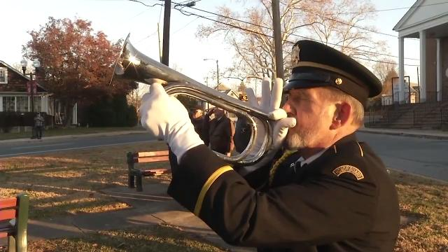 Veterans marked the anniversary of the attack on Pearl Harbor attack with a ceremony Thursday morning in Newport.  12/7/17