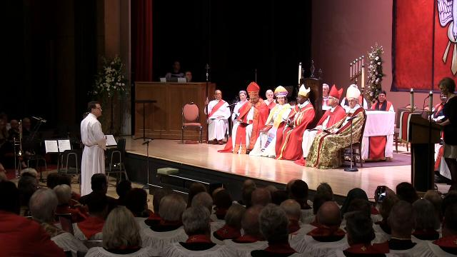 Kevin Brown ordained and consecrated as the 11th bishop of the Episcopal Diocese of Delaware.