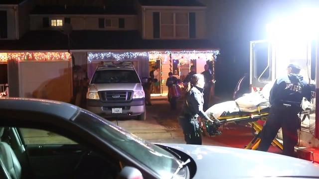 Raw Video: One wounded in shooting at New Castle home.
