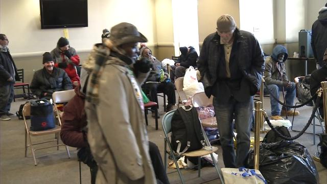 The Sunday Breakfast Mission, which offers shelter to the homeless, is asking the public to call police if they see homeless people in danger of hypothermia or frostbite.
