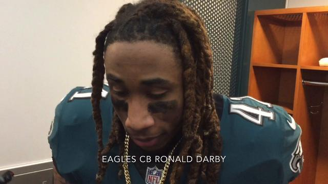 Eagles' Jalen Mills on game-saving play