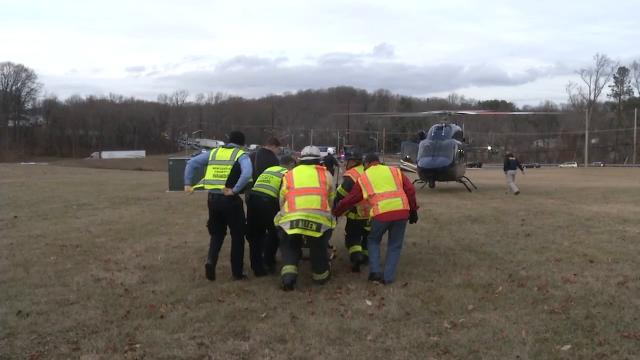 Child injured in Newport Gap Pike crash
