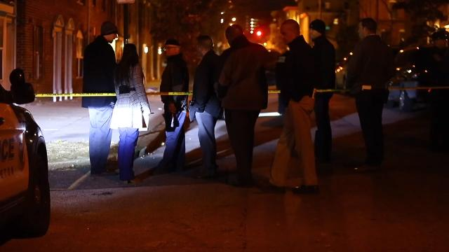 A 22-year-old man was shot in Wilmington in the 200 block of North Madison Street Thursday night in Wilmington.