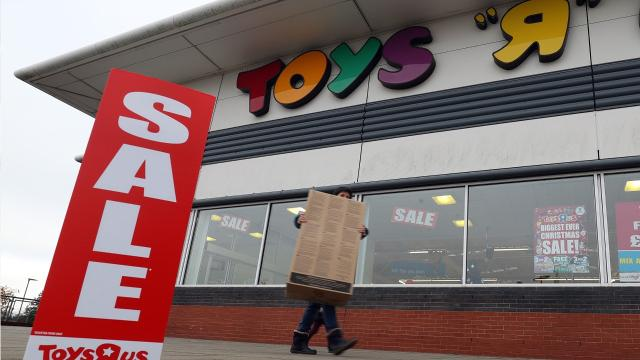 "Toys ""R"" Us Will Shut 180 Stores"