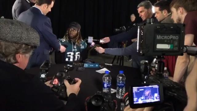 Super Bowl LII Behind the Scenes: Eagles Press Gathering