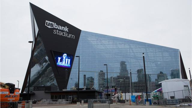 US Bank Stadium: Home of Super Bowl LII