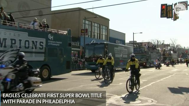 Philadelphia Eagles championship parade