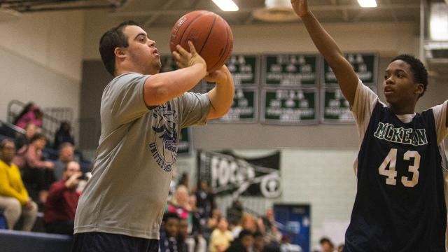 Unified Sports gives children with and without disabilities to compete and learn together.