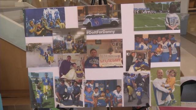 'Be The Match' were at UD looking for potential bone marrow donors.