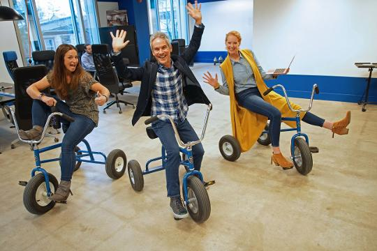 The Fun Dept. is bringing fun to employees working environments by making changes in the culture, attitudes, and interactions in the workplace.