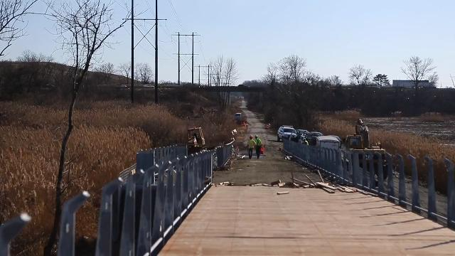 The Jack Markell Trail, a multimodal path connecting the Wilmington Riverfront to Old New Castle, is scheduled to open in June.