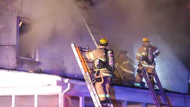 Boxwood Road house fire extinguished