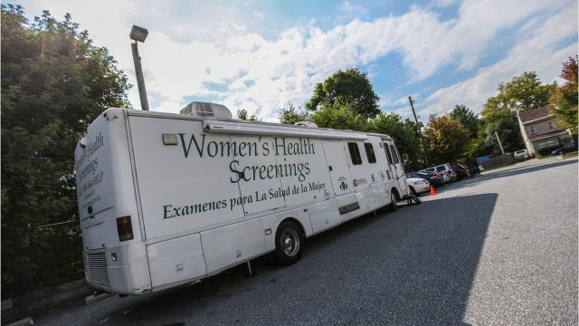 Proposed state budget would eliminate mammography van