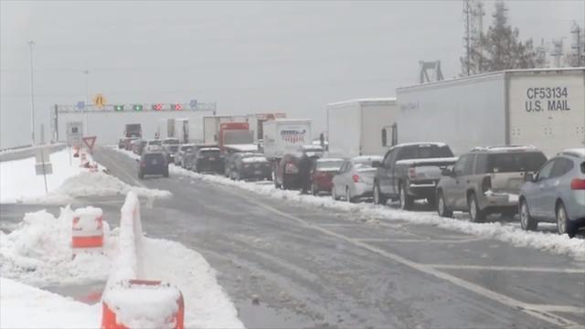 Motorists wait over 2 hours stuck on Delaware Memorial Bridge
