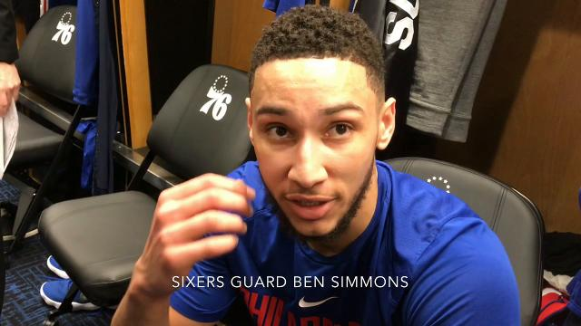 Sixers guard Ben Simmons on preparing for the playoffs and Brett Brown on loss to Pacers.