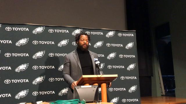 Michael Bennett welcomes trade to Eagles