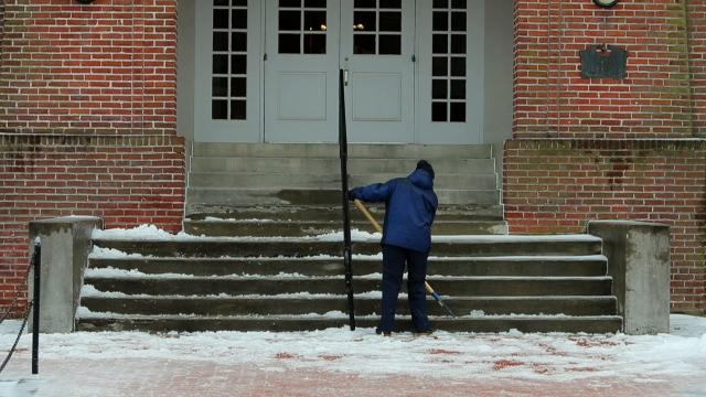 Delaware braces for the coming storm as the fourth nor'easter is forecast to drop snow totals in New Castle County around 12-18 inches, Kent County could see 6-8 inches and Sussex County may see 4-6 inches.