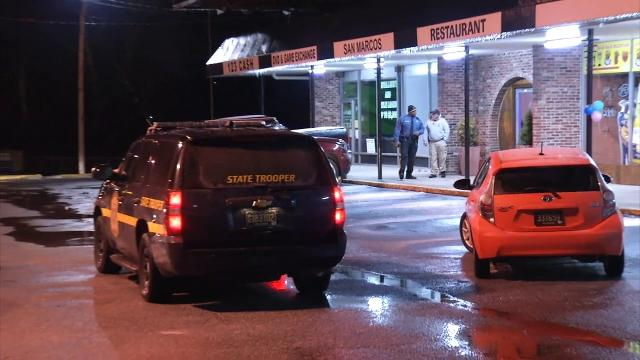 Two vehicles were damaged Tuesday night in Prices Corner when suspects threw an incendiary device at them.  3/21/18