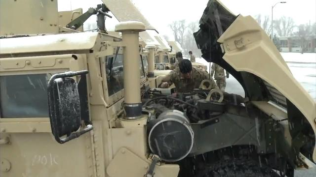 The Delaware National Guard began preparing Wednesday to help the state with any ice, snow, or flooding issues that may arise during this latest nor'easter.  3/21/18