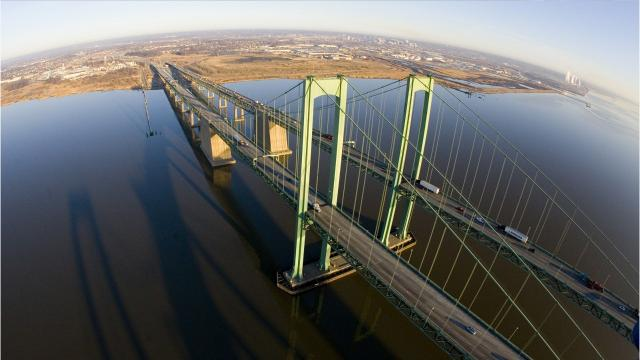 Delaware Memorial Bridge to close early Saturday morning for about 30 minutes between 12:30 a.m. and 1:30 a.m.