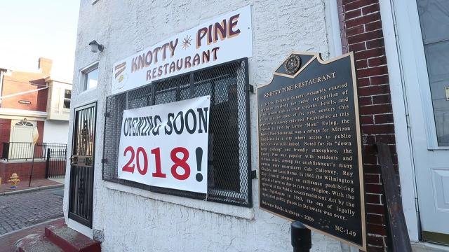 The landmark Knotty Pine restaurant in downtown Wilmington will reopen with a fresh family face.
