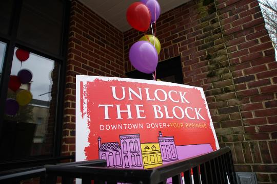 """Dover is launching a marketing campaign called """"Unlock the Block"""" that is encouraging business owners to come fill the vacancies that pepper the Loockerman Street area."""
