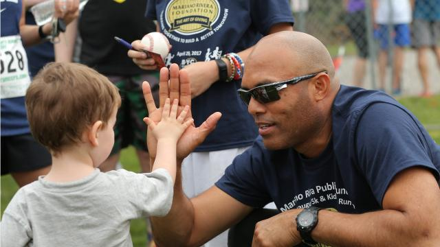 Based out of an office in Stanton, the Mariano Rivera Foundation  has worked to give back to Delaware through donations to churches, backpack giveaways and an upcoming 5k and Kids Run.