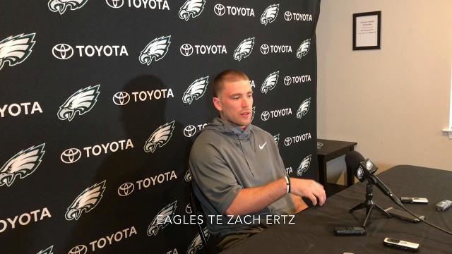 Wentz talks rehab, relationship with Foles
