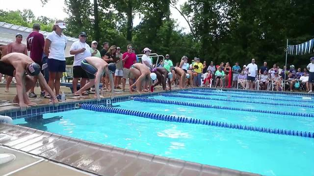The Suburban Swim League championship week kicked off Sunday afternoon at Oakwood Valley Swim Club in Wilmington.
