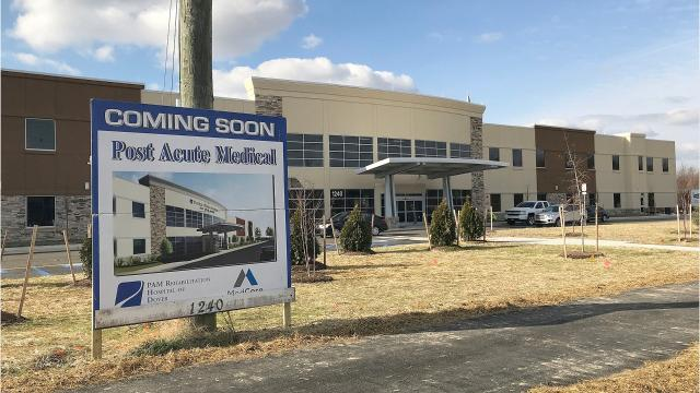 As Kent County continues to age, the need for more healthcare facilities catering to geriatric patients will grow. Post Acute Medical LLC will open a rehabilitation hospital in Dover in early February 2019. The 34-bed medical facility will employ 150 people.