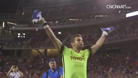 See the unbelievable end to the FC Cincinnati, Chicago Fire match