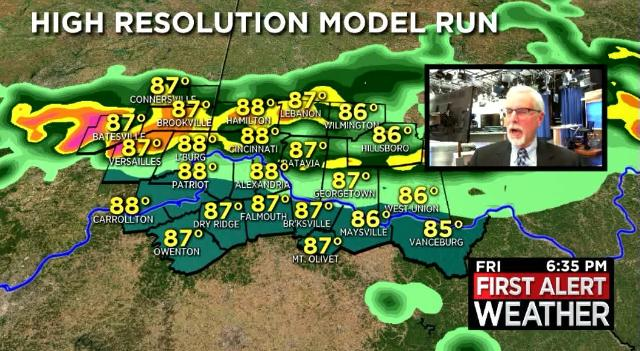 Forecast: Strong storms possible Friday