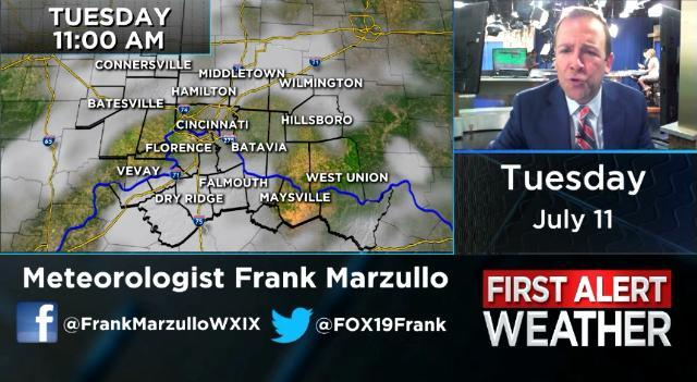 Forecast: Strong storms possible Tuesday