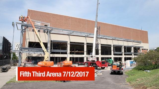Fifth Third Arena renovation tour